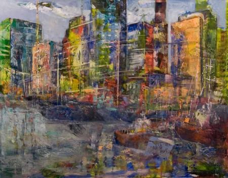 new york segundo cuadro pintora aracely alarcon