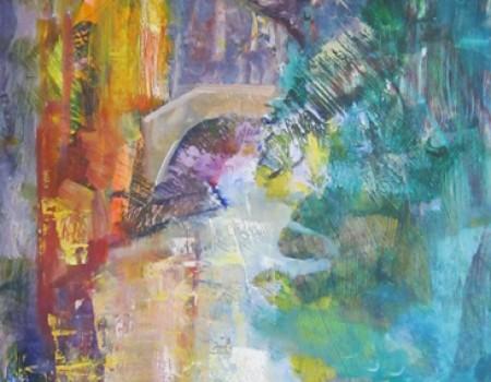 canal veneciano pintora aracely alarcon