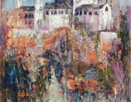 catedral de la almudena madrid pintora aracely alarcon